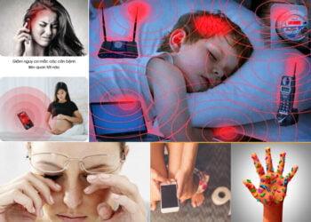 Tác hại của thiết bị đi động đối với sức khỏe con người